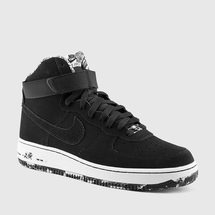 Nike Air Force 1 High 07 Black White 315121 031 Mens Size 16