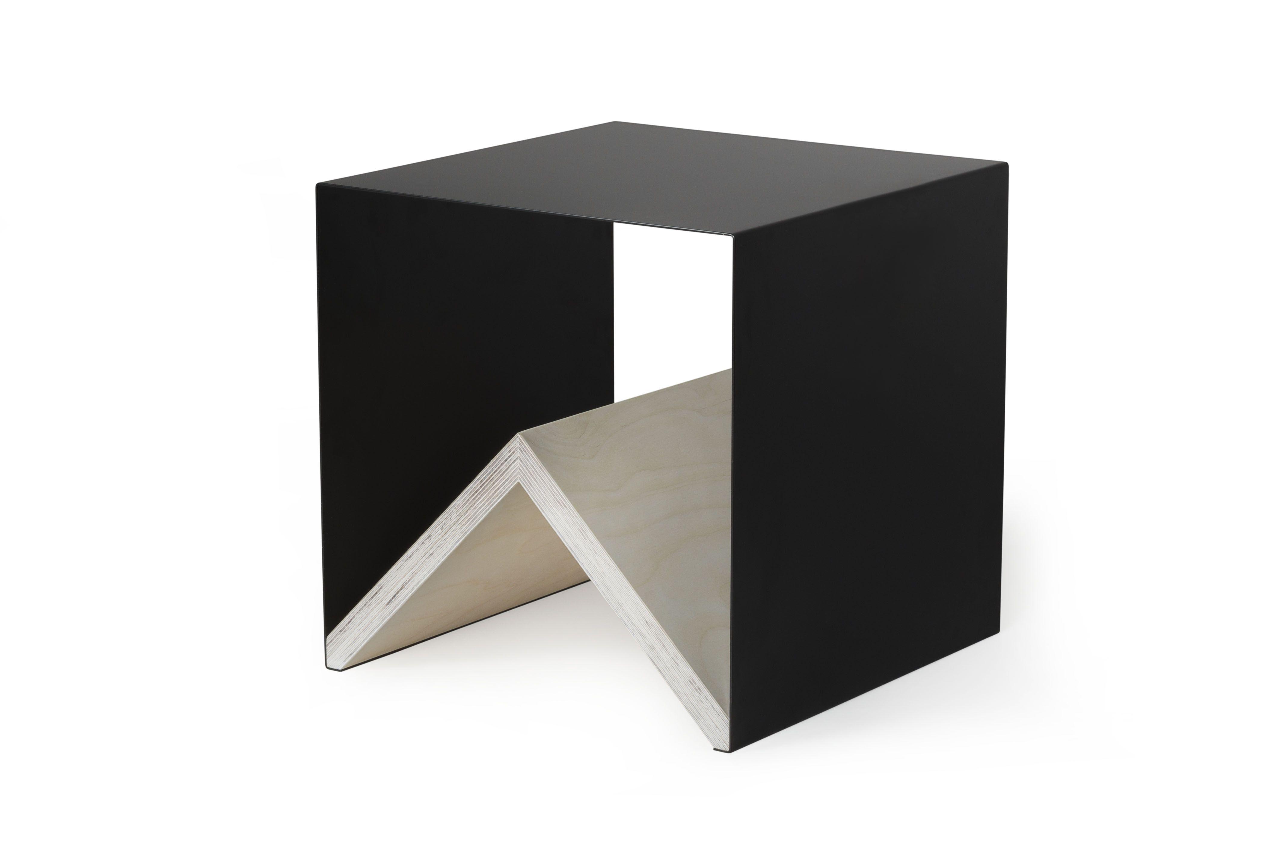 Kriss Table Zeitschriftenhalter Couchtisch Couchtisch Schwarz