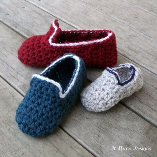 3db0ed058af21 Kids-Loafers | Crochet | Crochet, Crochet slipper pattern, Crochet ...