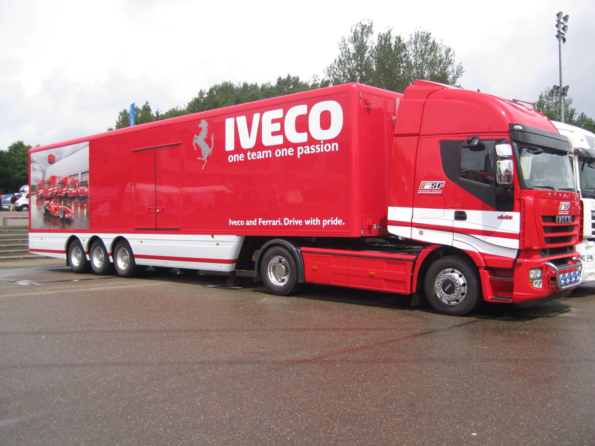 Iveco Stralis Scuderia Ferrari Trucks Ferrari Commercial