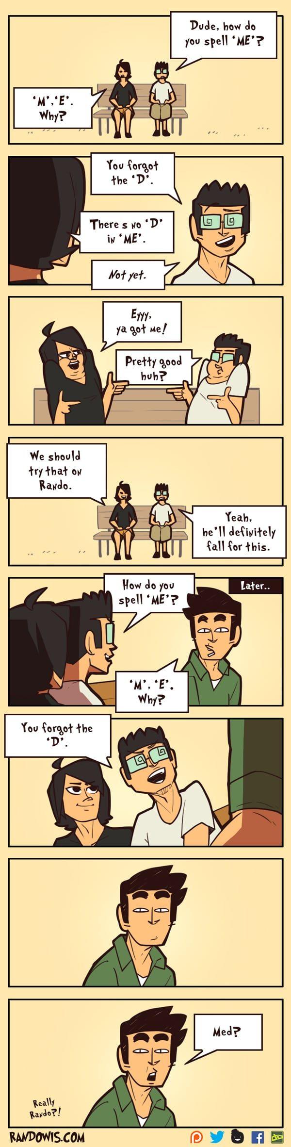 "RandoWis :: ""ME""   Tapastic Comics - image 1"