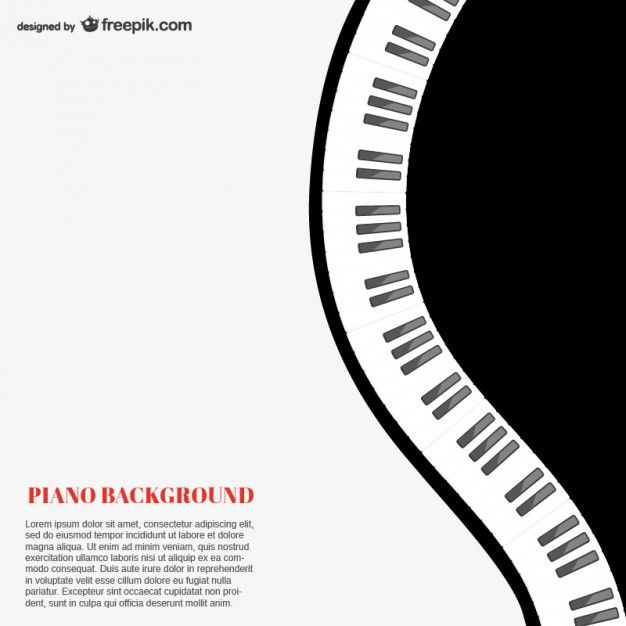 Download Piano Background Template For Free In 2020