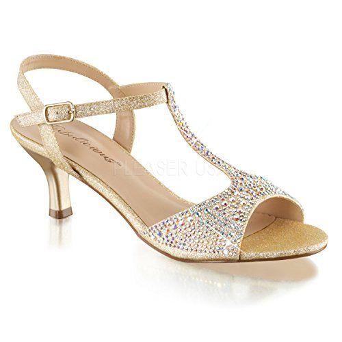 febffa1d62e5 Pleaser Women s Aud05 Nufa Heeled Sandal
