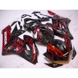 Fairing Injection Mold Plastic Red Flames Bodywork Fit for Honda 2004 2005 CBR1000RR
