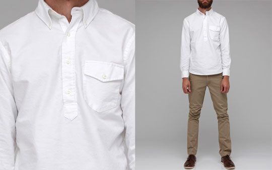 The New England Shirt Co. Pullover Oxford | England shirt, Oxfords ...