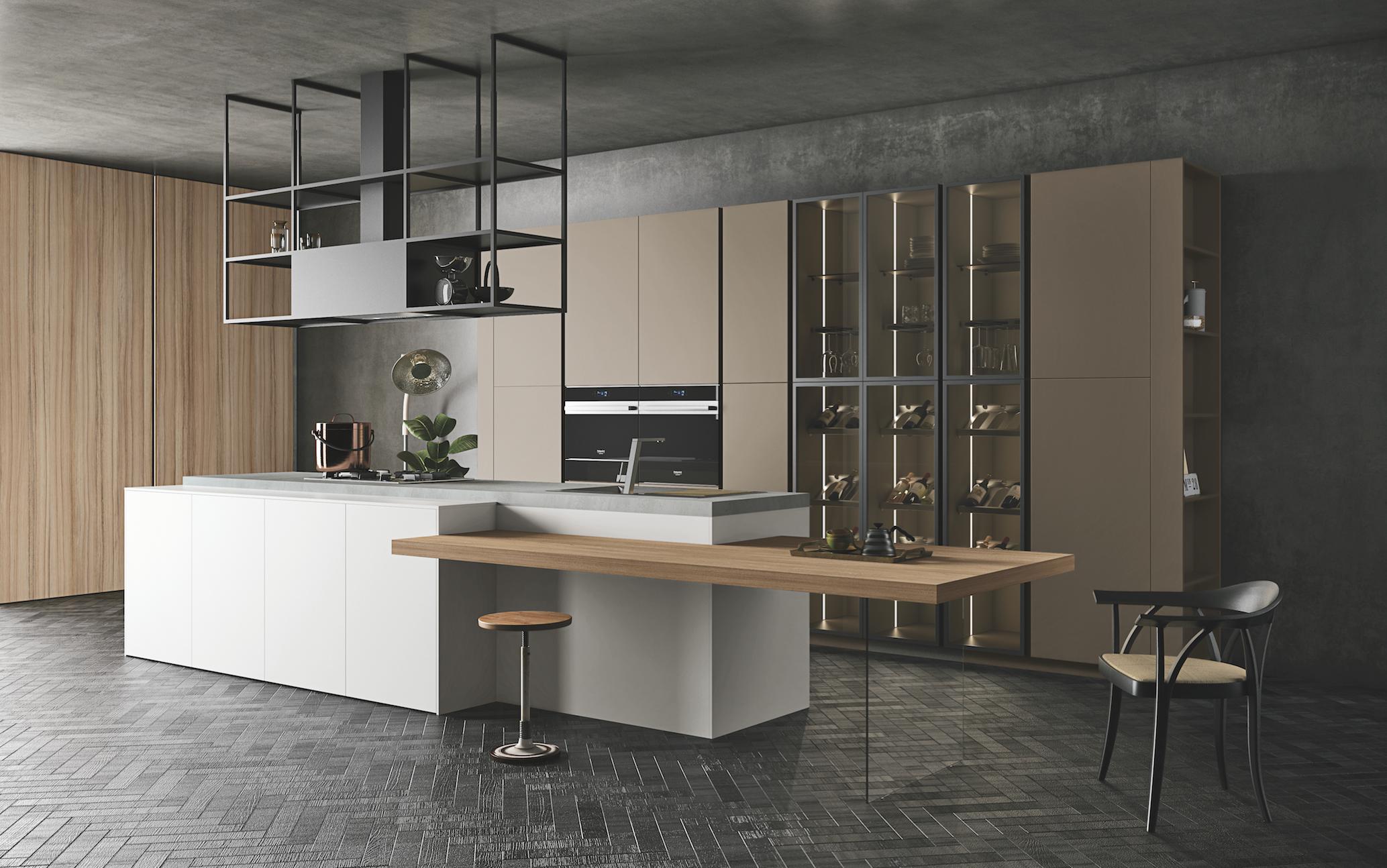 Credenze e vetrinette moderne in soggiorno nel 2020 ...