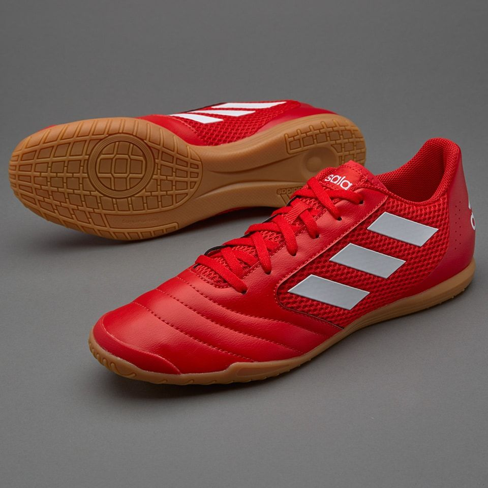 Marcado Fructífero Recordar  adidas ACE 17.4 Sala - Red/White/Scarlet   Adidas, Football boots, Shoes