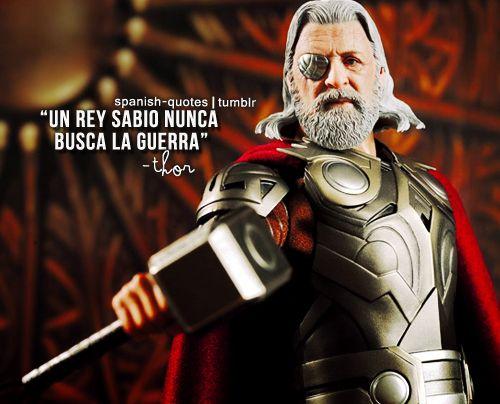 El Padre De Thor Sabe Frases De Marvel Mejores Frases