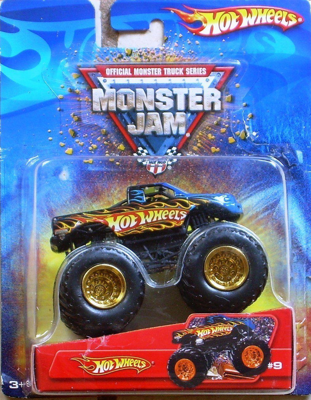 Amazon Com Hotwheels Monster Jam Truck 9 2006 Toys Games Hot Wheels Toys Monster Trucks Monster Jam