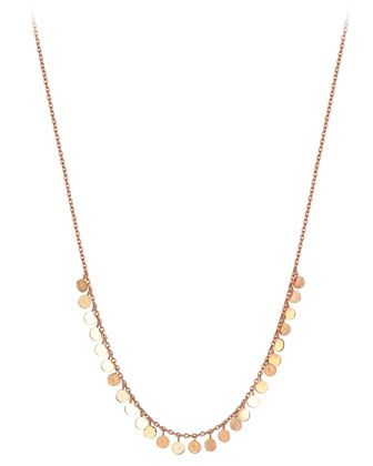 Kismet by Milka 14k Circle Chain Necklace 6AEwP