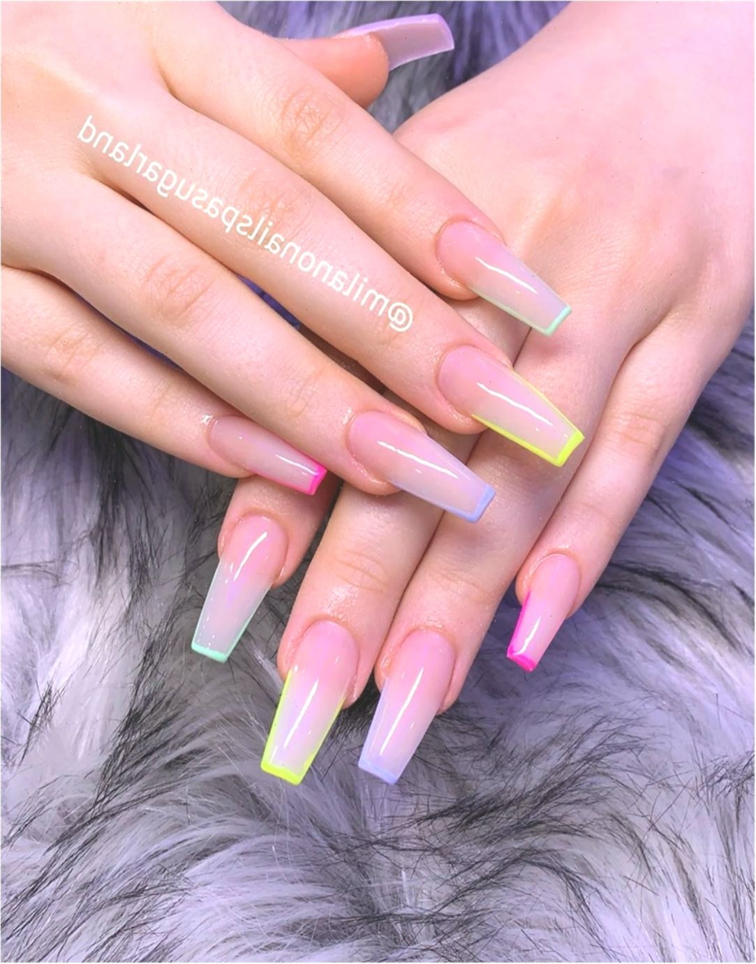 Milano Nail Spa Sugar Land On Instagram Welcome To Milano Nail Spa Ngel Longnails In 2020 Ombre Acrylic Nails Best Acrylic Nails Pink Acrylic Nails