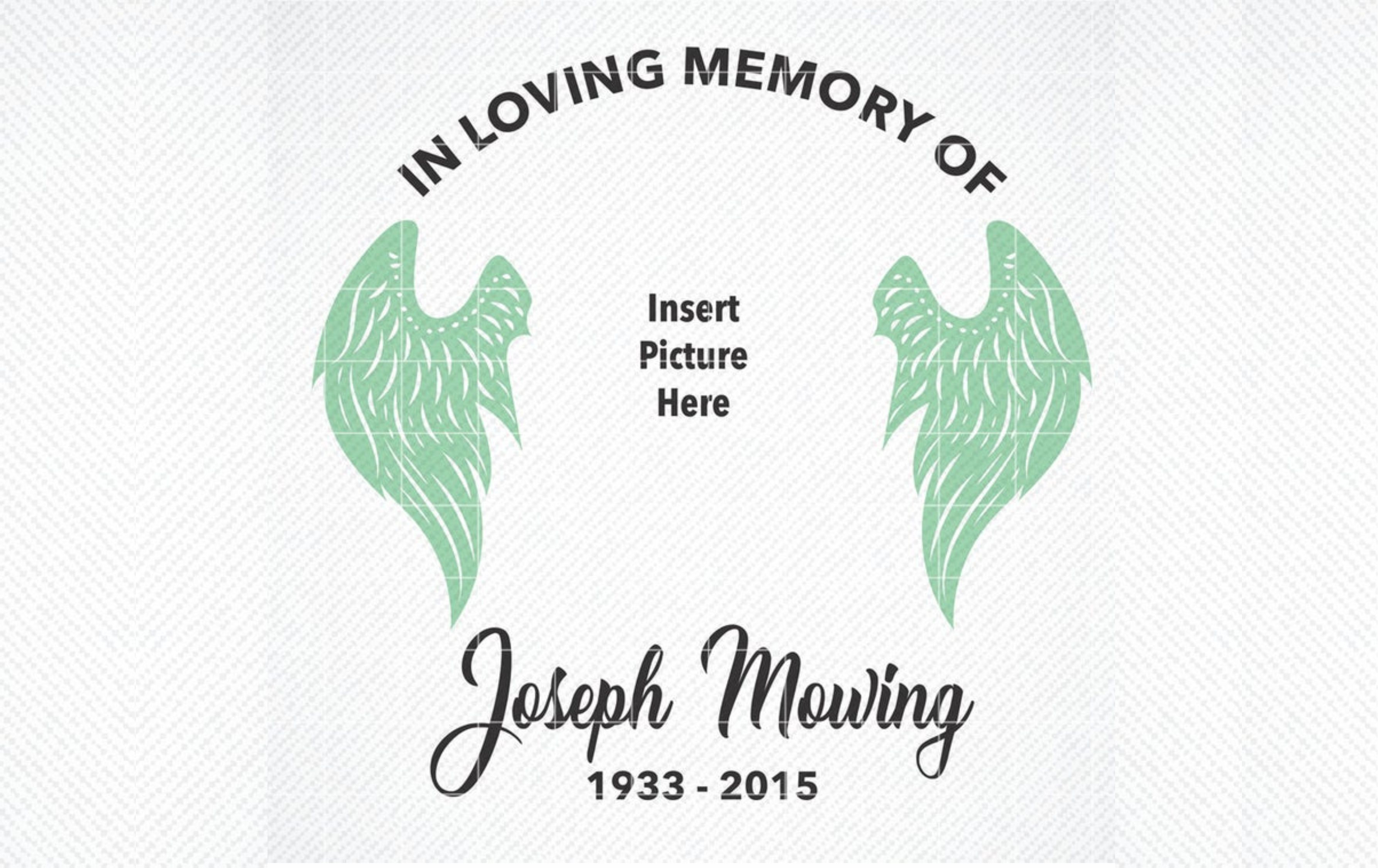 In Loving Memory Graphic Graphic By Svg Den Creative Fabrica In 2020 In Loving Memory Loving Graphic