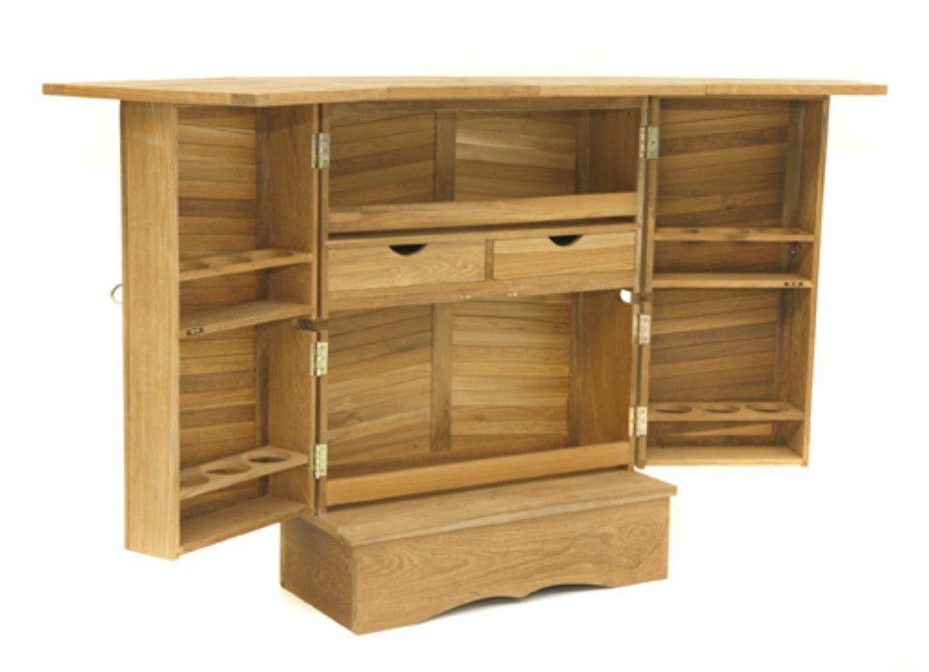 Table De Bar Casterton En Teck Durable Chaise Bar Mobilier De Salon Meubles En Ligne
