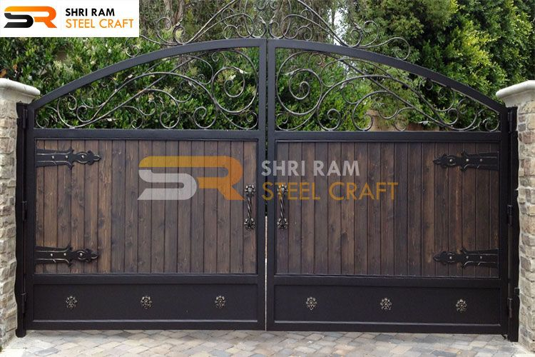 Wrought Iron Main Gates Modern Iron Gates Design For Home In