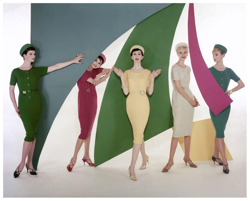 1963 One Dress Five Ways.1963.William Bell