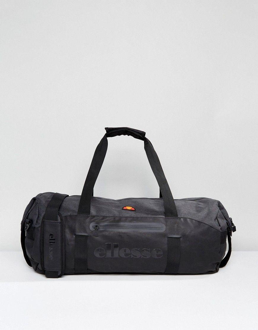 e27d186e1d2a Get this Ellesse s sports bag now! Click for more details. Worldwide  shipping. Ellesse Renato Barrel Bag - Grey  Barrel bag by ellesse