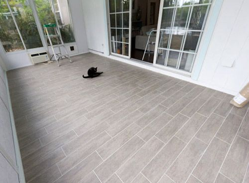 Reader Redesign Endless Summer Young House Love Flooring Sunroom Porch Flooring