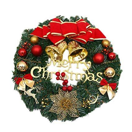 Leisial Kreativ Weihnachten Turkranz Weihnachten Dekoration