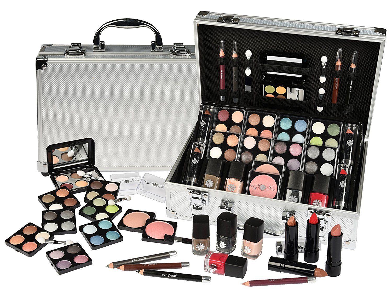 Schmink Koffer Coffret Maquillage Mallette En Aluminium 51 Pieces Maquillage Pas Cher Amazon Ventes Pas Cher Com Coffret Maquillage Maquillage Pas Cher Et Maquillage