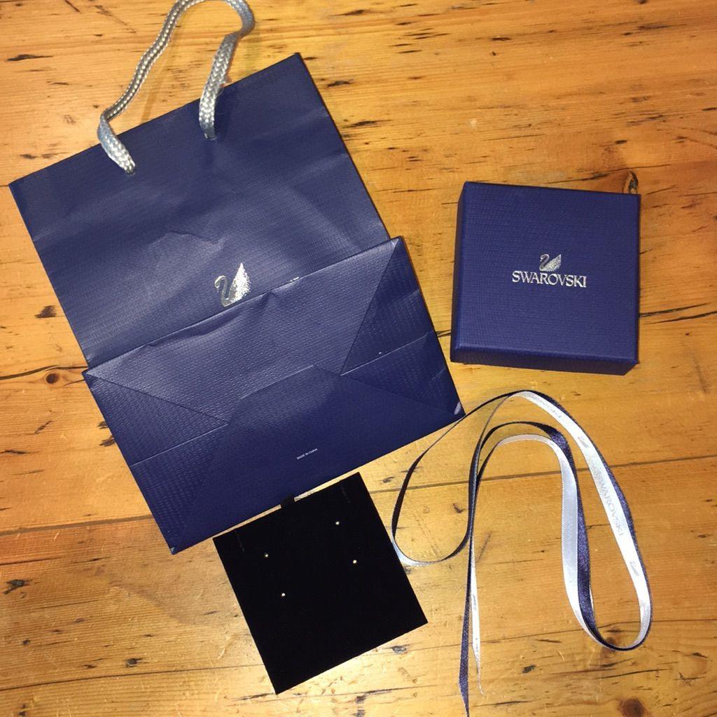 52e0ae7afd Swarovski Gift Bag Set Swarovski Gifts, Gift Ribbon, Gift Bags, Loot Bags