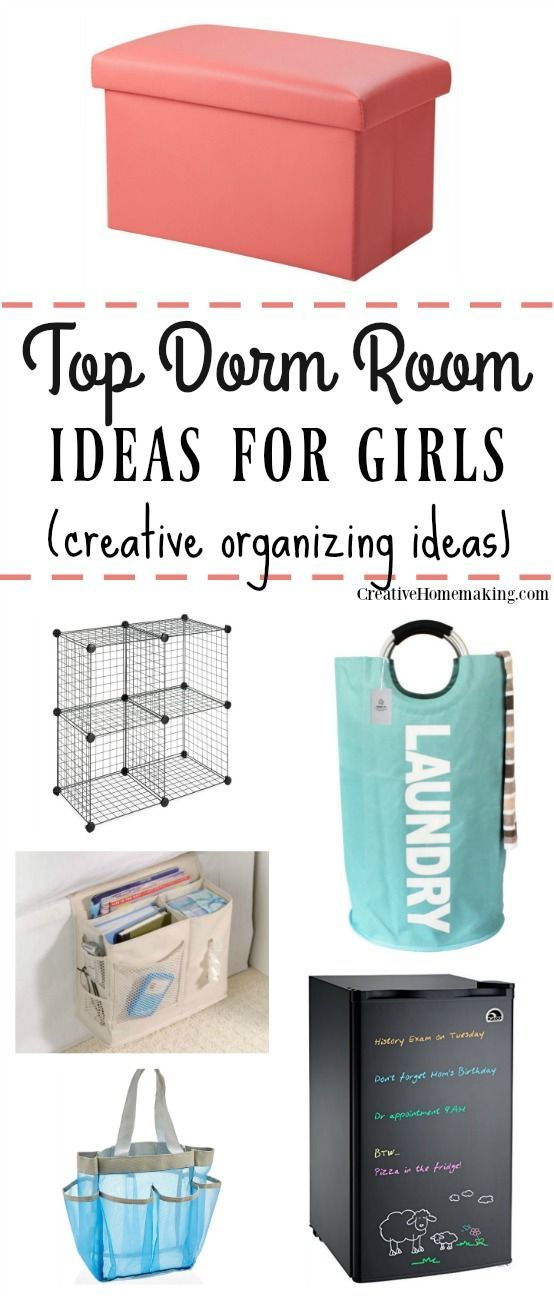 Best Dorm Room Ideas for Girls #dormroomideas
