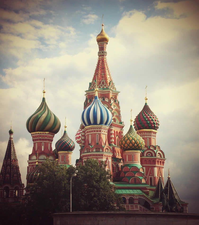 Moscou Cathédrale St Basile