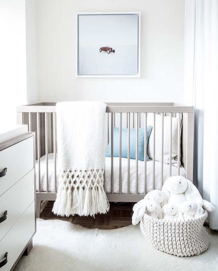 small gender neutral nursery nursery design grey nursery boy nursery modern nursery neutral. Black Bedroom Furniture Sets. Home Design Ideas