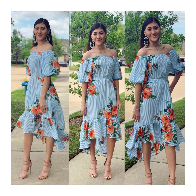 Caribbean scape dress | Summer Outfits! | Dresses, Summer