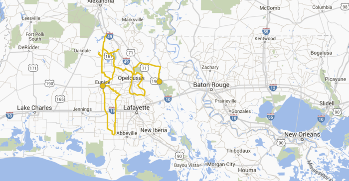louisiana scenic byways map These 7 Beautiful Byways In Louisiana Are Perfect For A Scenic louisiana scenic byways map