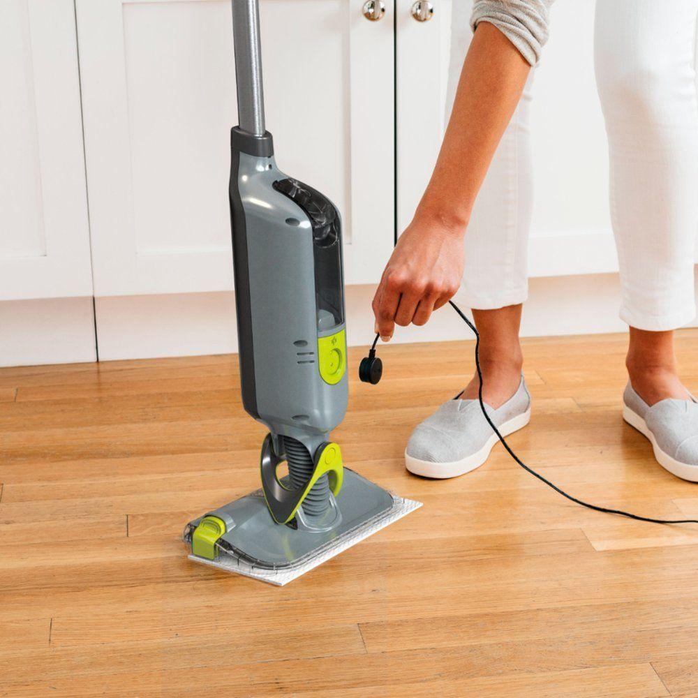 Shark Vacmop Vm252 Pro Cordless Hard Floor Vacuum Mop Charcoal Gray Vm252 Best Buy In 2020 Vacuums Spray Mops Hard Floor