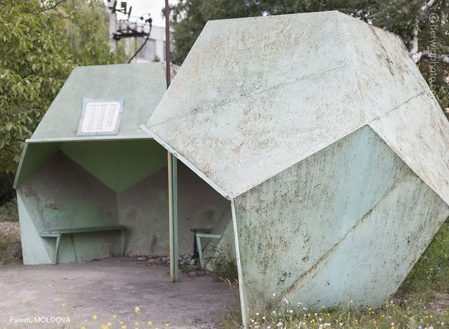 Photographer Travels 30000km Documenting Soviet Bus Stops And Is