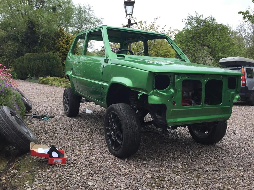 1988 Fiat Panda 4x4 Sisley Modified Greenlaner Retro Rides Auta