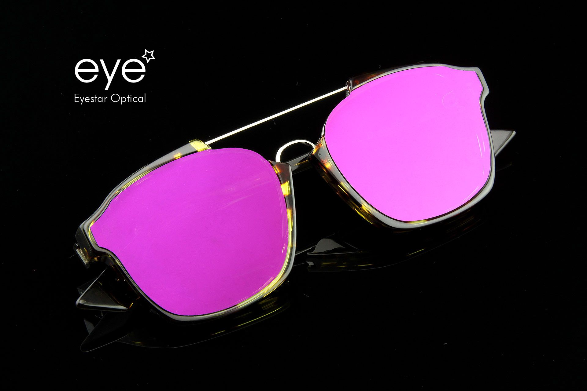 9c45ada9d1b8 DIOR ABSTRACT - Purple Mirror Havana. Now available at all Eyestar  locations.