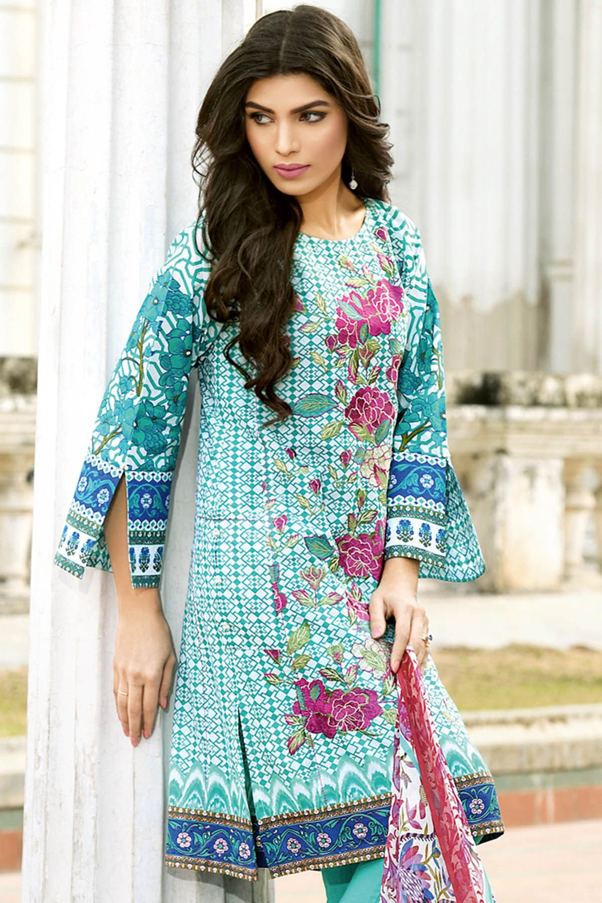 Summer beautiful dresses gul ahmad