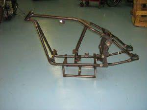 custom softail motorcycle frames. Harley Softail Custom Gooseneck Frame Motorcycle Frames