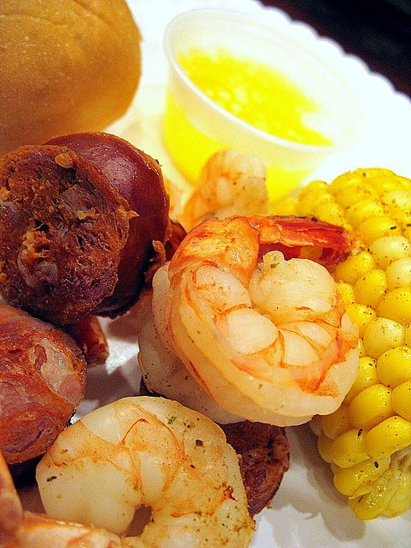 A Watched Pot Never Boils: Frogmore Stew | Big Red Kitchen - a regular gathering of distinguished guests