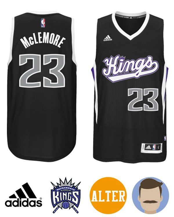 541ace22031d Don t miss the chance to get Men s Adidas Sacramento Kings  23 Ben McLemore  Black New Swingman Alternate Alternate Jersey