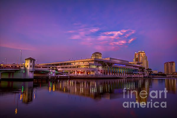 """Tampa Convention Center At Dusk"" photo by Marvin Spates"