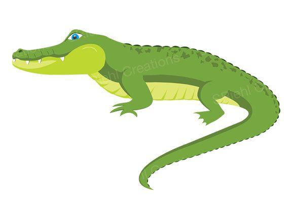 Alligator Clipart Crocodile Digital Download Art Etsy Alligator Illustration Baby Shower Clipart Crocodile Pictures