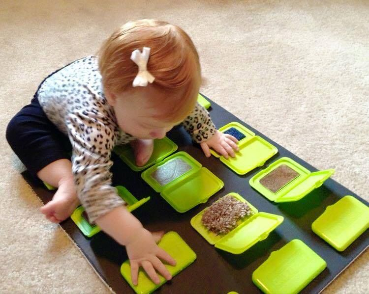 Tablas sensoriales para tu bebé |