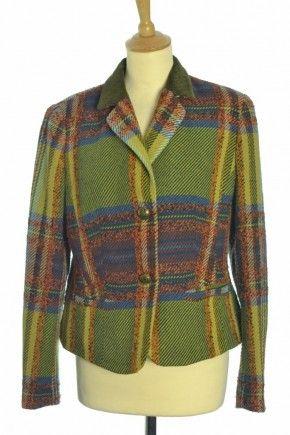 Vintage checked jacket, more at http://www.bragvintage.co.uk  #vintagejacket