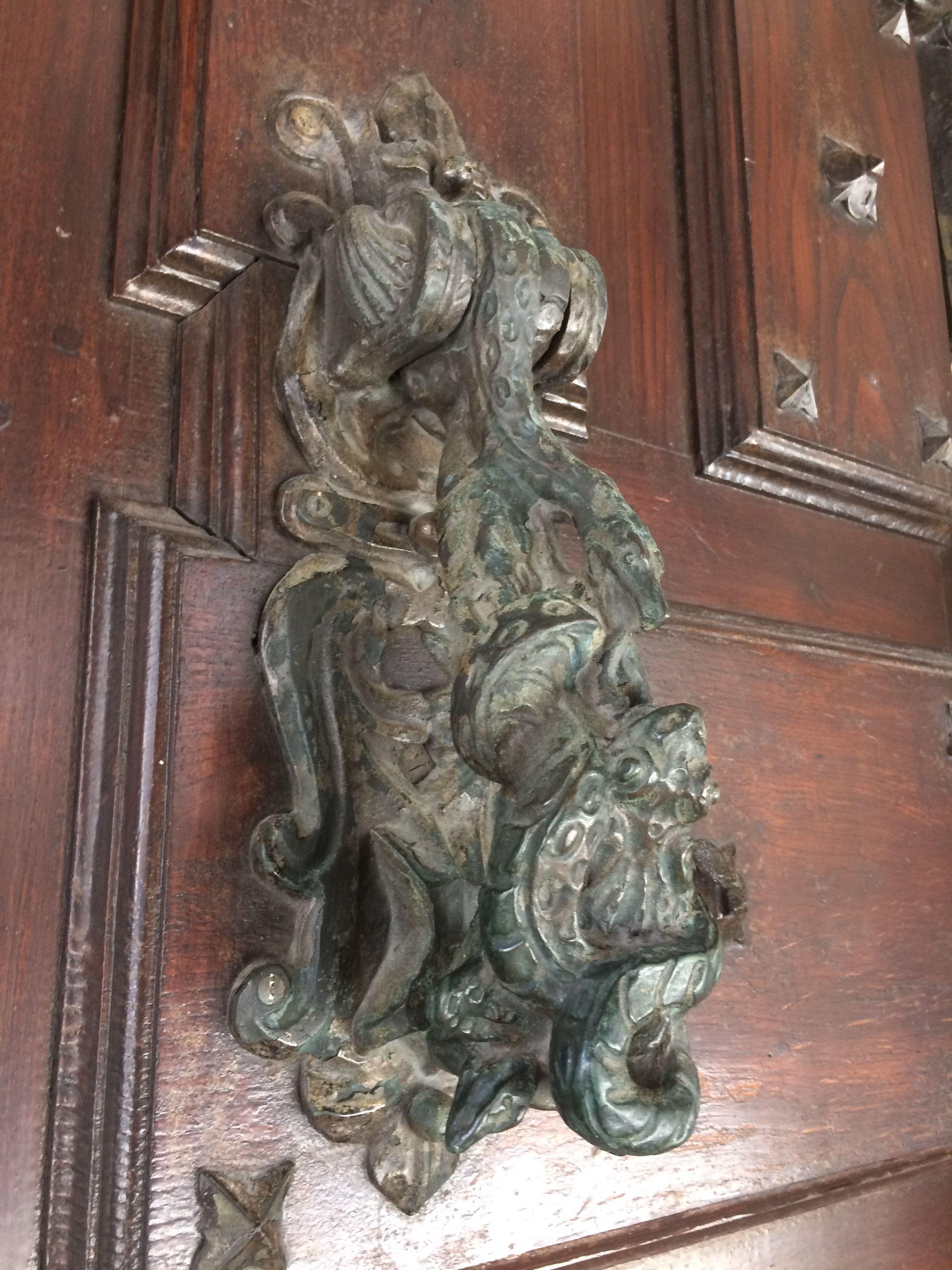 Santiago De Compostela Espa A Aldabas Pinterest Door Furniture # Muebles Rey Jaca