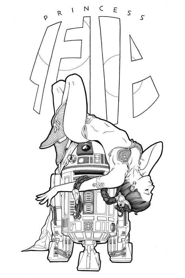 Pin on Slave Leia Artwork