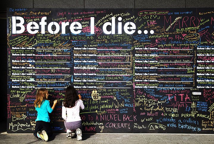 Must See- Before I Die Project