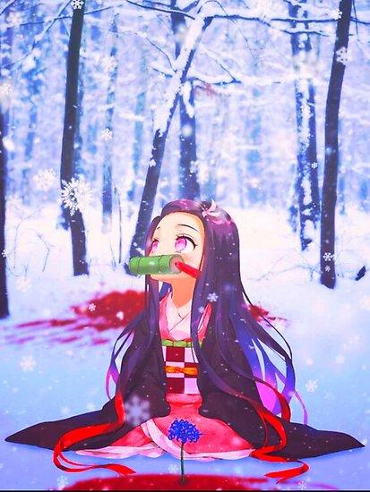 Nezuko Kamado Demon Slayer Poster