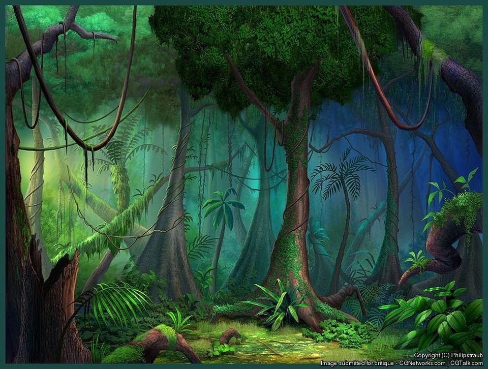 cartoon jungle bushes - Google Search cartoon trees,plants in 2018