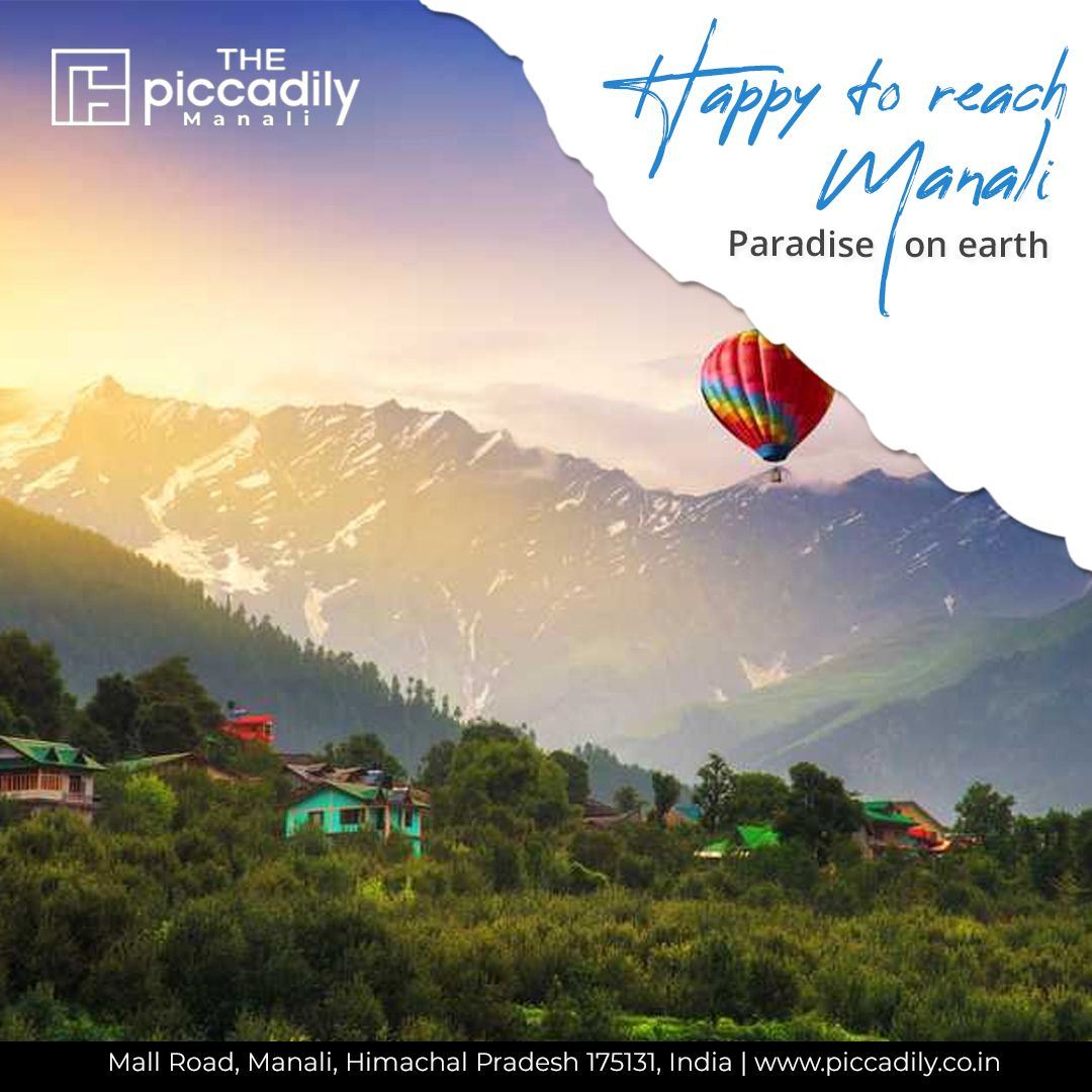 Manali is a high-altitude Himalayan resort town in India's northern Himachal Pradesh state. It has a reputation as a backpacking center and honeymoon destination.  #hotel #manali #thepiccadily #manalihotels #himalayasin #lehladakh #lonelyplanetindia #outlooktraveller #tripotocommunity #jannatehimachal #beautifulhimachal #hippieinhills #onehimachal
