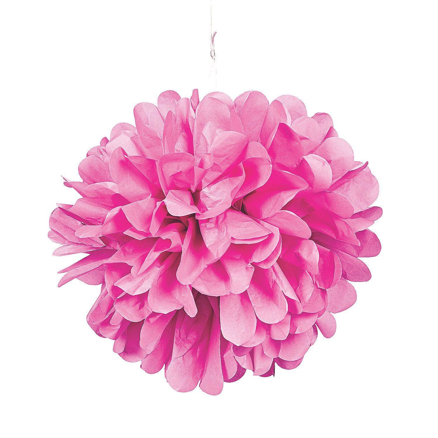 Other Colors Not Just Pink Light Pink Pom Pom Tissue Decorations