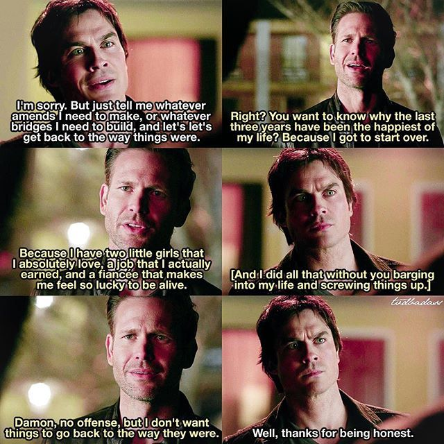 """#TVD 7x18 """"One Way or Another"""" - Damon and Alaric"""
