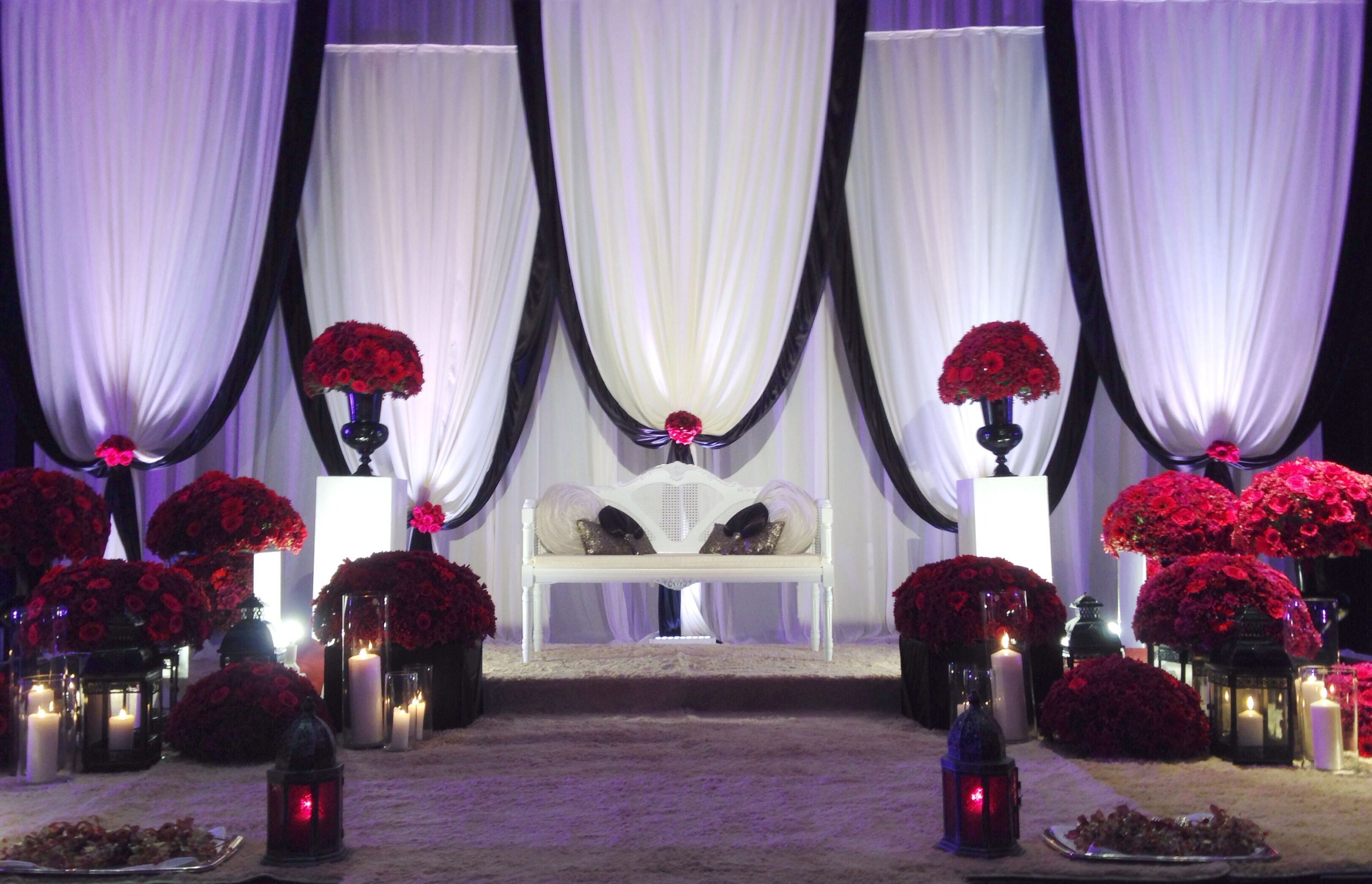 Decor By Weddings Sher At The Kristal Ballroom